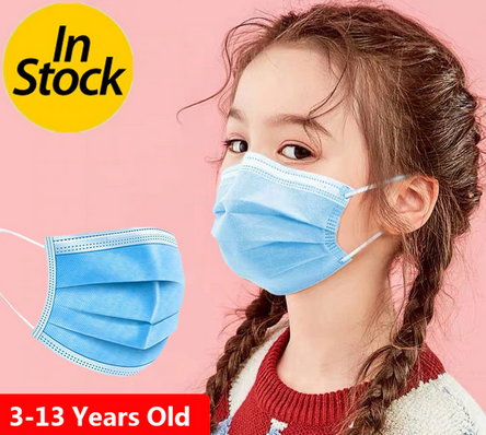 Disposable 3 Layer Mask - Kids