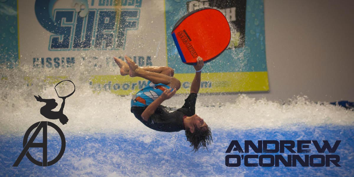 Andrew O'Connor flowboarding