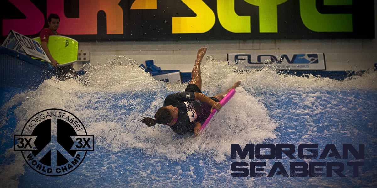 Morgan Seabert flowboarding