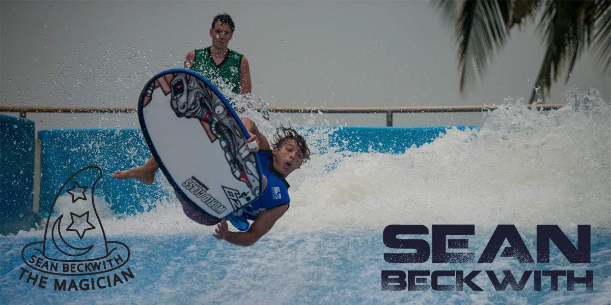 Sean Beckwith flowboarding
