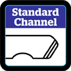 bodyboard features standard channels