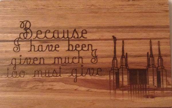 Quotes on Wood Plaques