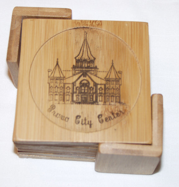 Bamboo Coaster Sets