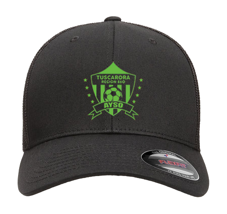 AYSO 6511 Flexfit Adult 6-Panel Trucker Cap