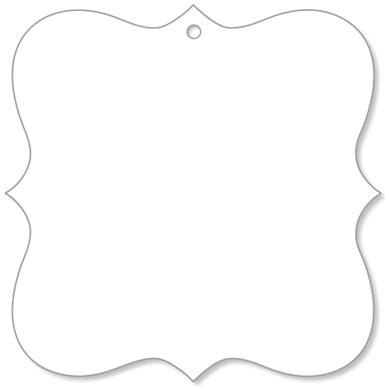 Canvas Ornament Rectangle