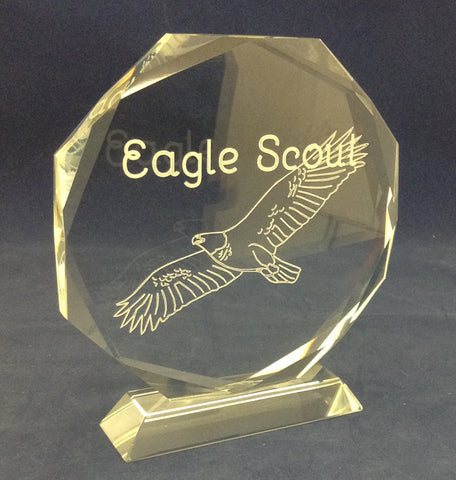 Eagle Scout Award Crystal