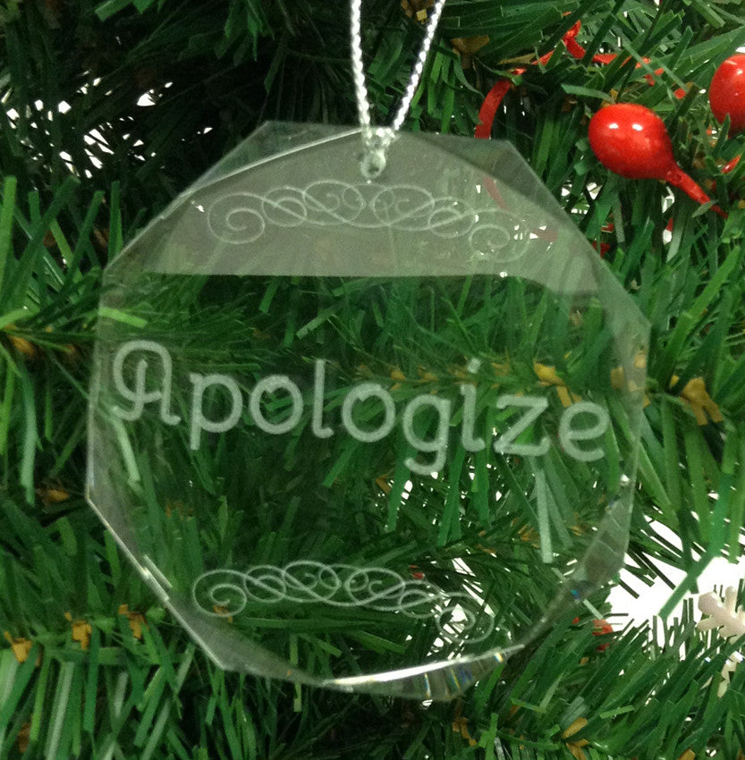 Crystal Glass Give Series Apologize