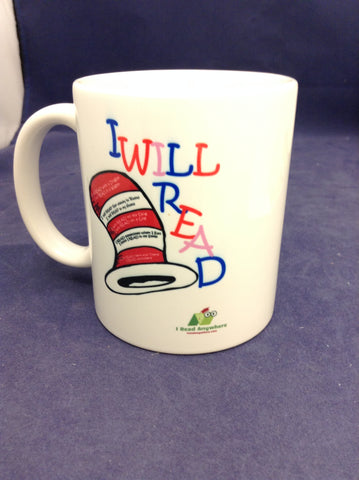 I Read Anywhere I Will Read Mug