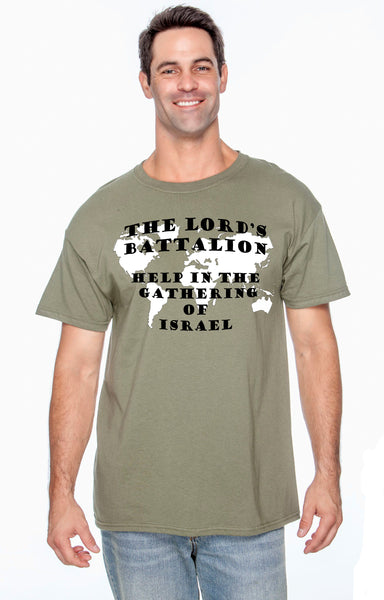 The Lord's Battalion T-Shirt S-5X
