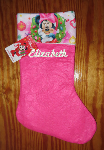 Personalized Christmas Stocking Minie
