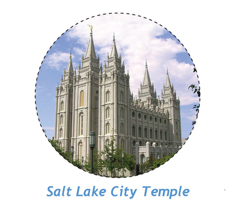 Temple Magnet Salt Lake City