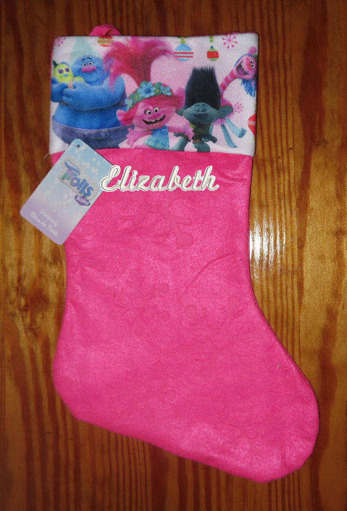 Personalized Christmas Stocking Trolls