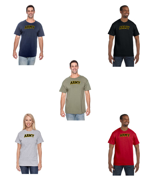 Military Physical Training PT T Shirt Army Navy Marines Air Force