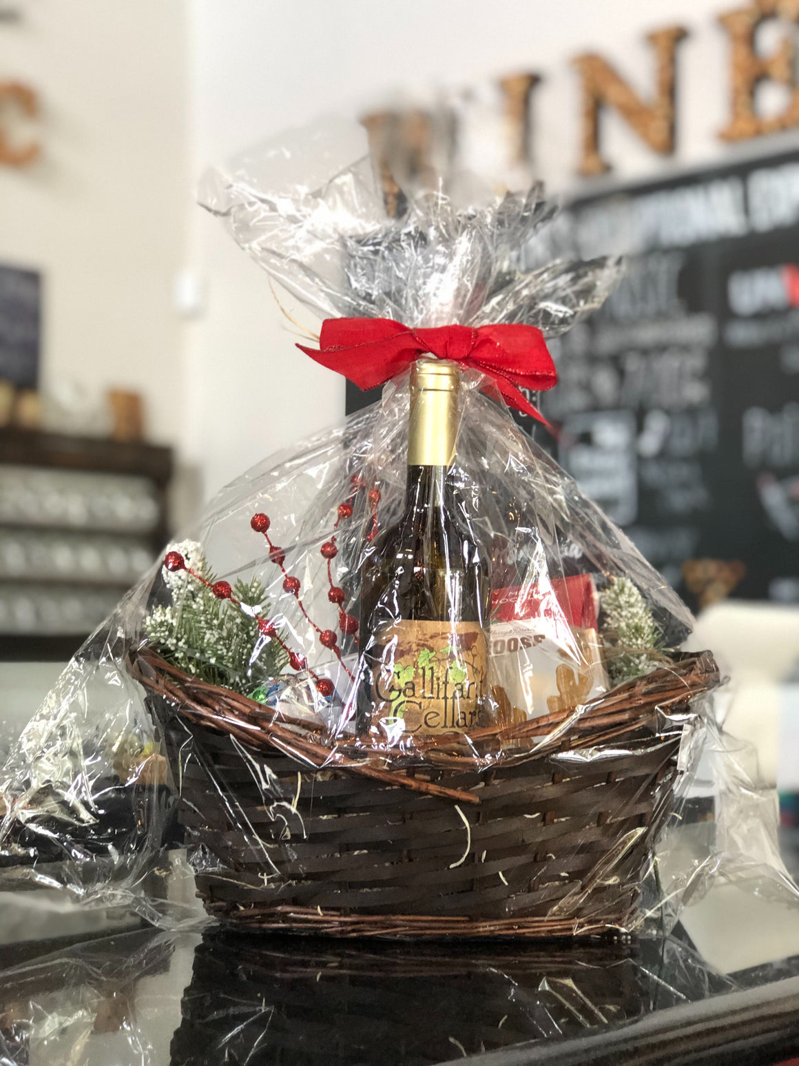 Handcrafted Holiday Gift Baskets