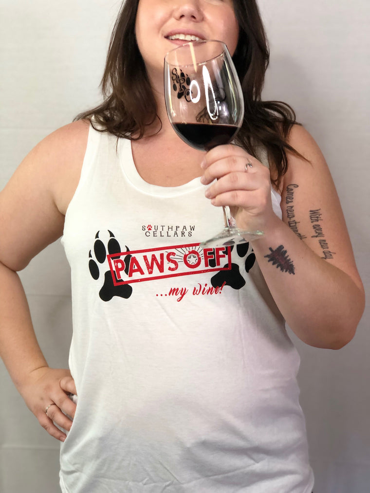 Women's Tank Top - Paws Off!