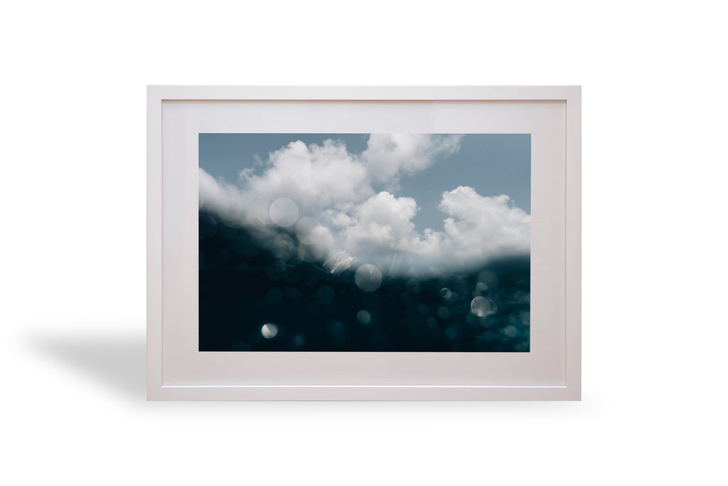 Clouds, sea, great barrier reef, beautiful, photo, print, prints, photography, design, interior, framing, styling, phresh