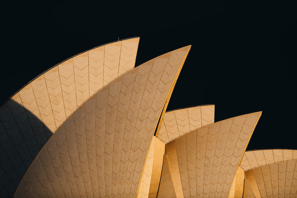 Hope, sydney opera house, sails, sunrise, light, beautiful, photo, print, prints, photography, design, interior, framing, styling, phresh