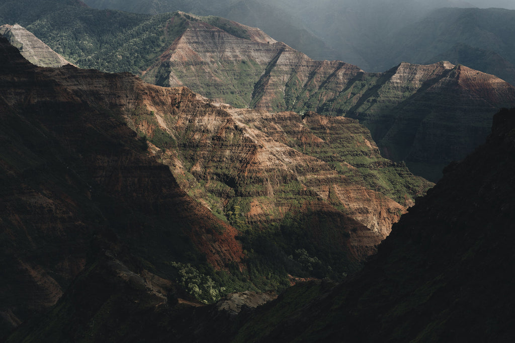 waimea canyon colours, hawaii, kauai, beautiful, photo, print, prints, photography, design, interior, framing, styling, phresh