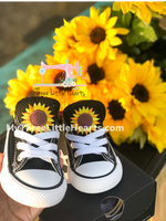 TODDLER SIZING Sunflower converse