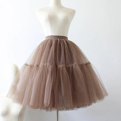 Annabella Two Layer Tulle Skirt