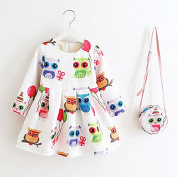 Colorful Owl Two Piece
