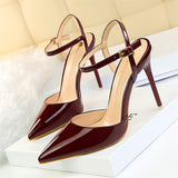 Cris Pointed Toe Pump