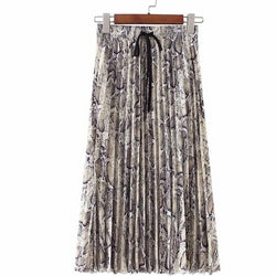 Mina Pleated Skirt