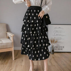 Bria Polka Dot Skirt