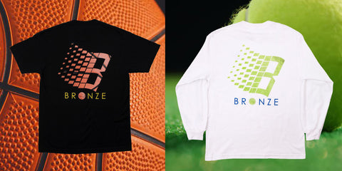 Bronze 56k B Logo Tee's T-Shirts. Basketball. Tennis. Tuesdays Skateshop Best place to buy Bronze56k in the UK