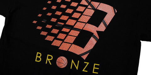 Bronze 56k B logo basketball tee at Tuesdays Skateshop best place to buy Bronze56k t shirts in the UK