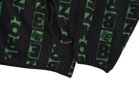 Bronze vert fleece black green. Tuesdays Skateshop fit guide sizing chart UK seller Free delivery