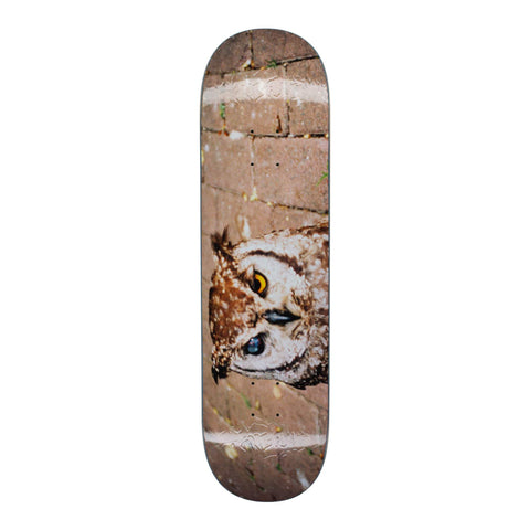 "Buy Fucking Awesome Owl Photo Jason Dill Skateboard Deck 8.38"" All decks come with free Jessup griptape, please specify in the notes at checkout or drop us a message in the chat if you would like it applied or not. Shop the biggest and best range of FA in the UK at Tuesdays Skate Shop. Buy now pay later options with Klarna and ClearPay."