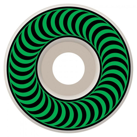 Spitfire Classics Skateboard Wheels 52 mm White/Green