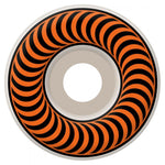 Spitfire Classics Skateboard Wheels 53 mm White/Orange - Tuesdays Skate Shop