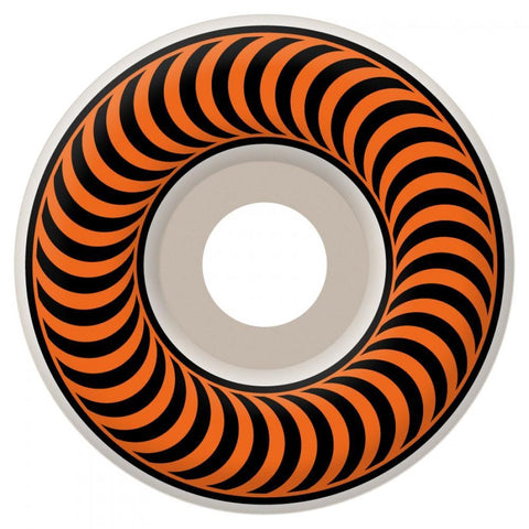 Spitfire Classics Skateboard Wheels 53 mm White/Orange