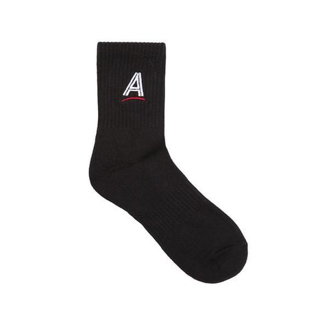 Buy Alltimers Estate Embroidered Socks Black. UK 6 - 11 80% Cotton / 15% Polyester / 5% Spandex See more Alltimers? See more Socks? Best for Alltimers Clothing, Decks and accessories in the UK at Tuesdays Skate shop, Fast Free delivery.