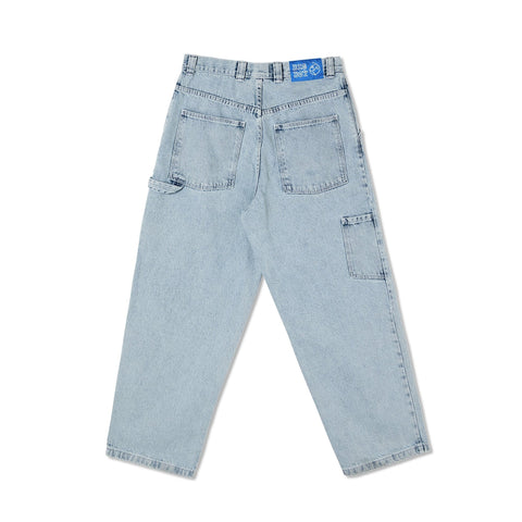 Buy Polar Skate Co. Big Boy Work Pant Light Blue. Extremely loose fit. Slightly Tapered. Carpenter side pocket and hammer loop detailing. Big Boy Embroidered detail on condom Pocket. Heavy set belt loops. See more Polar Skate Co. Fast Free UK & EU delivery options. Worldwide Shipping.