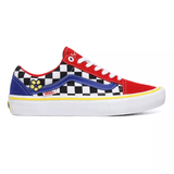Vans Old Skool Brighton Zeuner Pro Shoes Suede Red/Checker/Blue. Light weight durable padded throughout construct. Suede reinforced Double stitched toe Box w/ Canvas padded upper for that added snug comfort. Heel cushioned insole for reduced landing impact on the new improved UltracushHD insert insole. Fast Free UK Delivery, Worldwide Shipping .  Contact@tuesdaysskateshop.co.uk - 01204 414 666