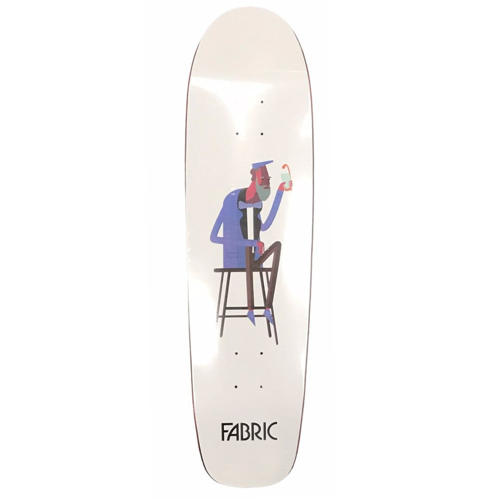 "Buy Fabric Skateboards Beers Cruiser Skateboard Deck. 8.5"" X 32.125"" Wheelbase : 14"" Deep Concave. All decks come with free Jessup grip, please specify in notes or drop a message if you would like it applied or not. See more Decks? Tuesdays Skateshop."