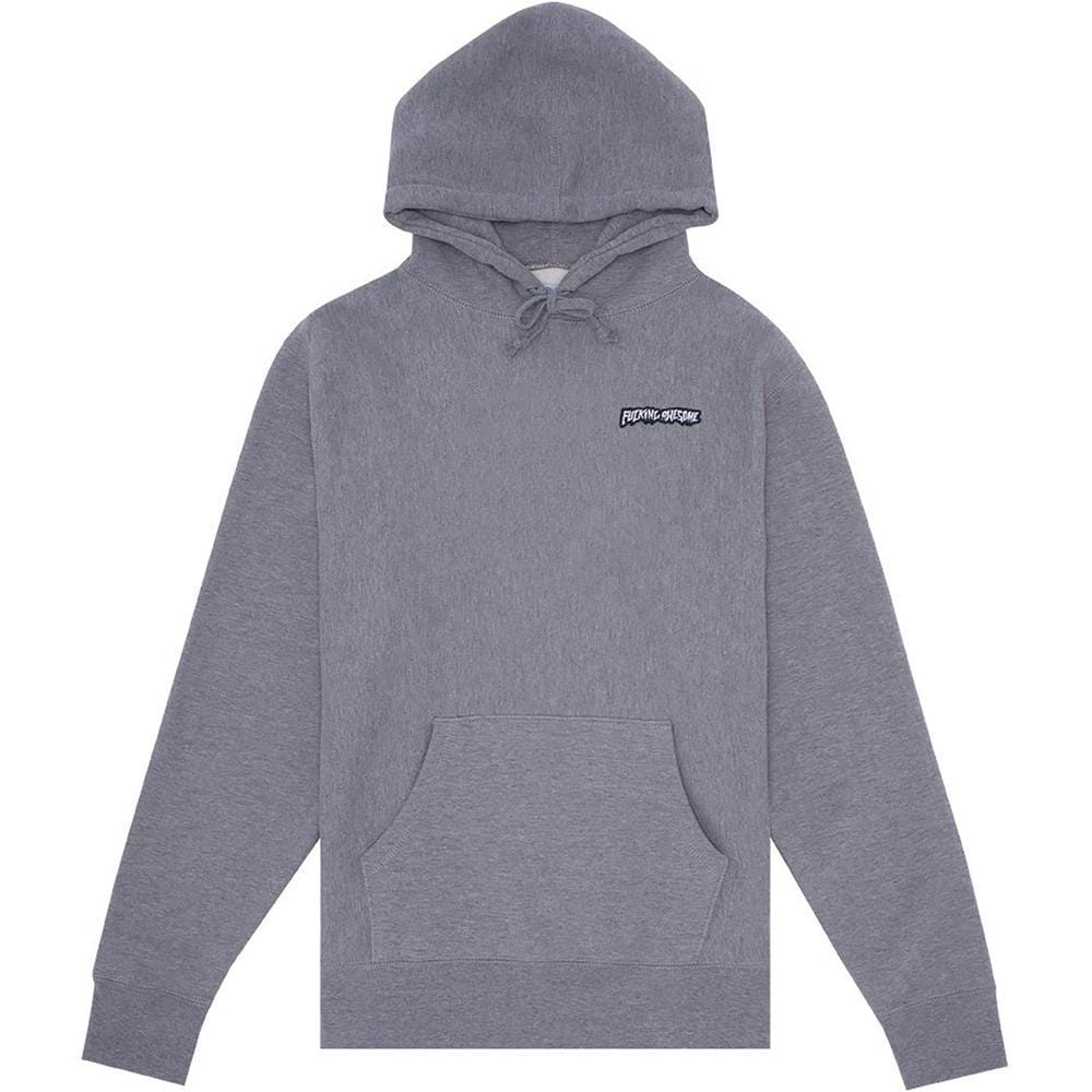 Buy Fucking Awesome Little Stamp Hood Gunmetal. 100% heavy cotton construct. Regular fitting. Kangaroo pouch pocket, drawstring adjustable hood with ribbed cuffs and waistband. Print central on chest. Buy now pay later with ClearPay and Klarna payment plans. Fast Free delivery and Shipping. Tuesdays Skateshop, Bolton, Greater Manchester, UK.
