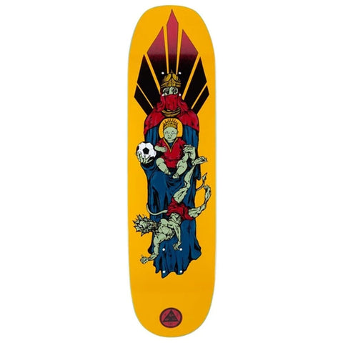 "Buy Welcome Skateboards Futbol Moontrimmer 2.0 Shaped Skateboard Deck 8.5"" Classic Shaped Welcome deck. All decks come with free Jessup grip. Drop us a message in the chat to let us know if you would like it applied or not. Best range of welcome Shaped Decks in the UK. Klarna & ClearPay payment plans, Pay in 3 or 4. Tuesdays Skateshop Greater Manchester. Best for Skateboarding."