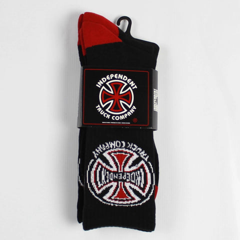 Independent Truck Company Socks Black (2 Pairs) - Tuesdays Skate Shop