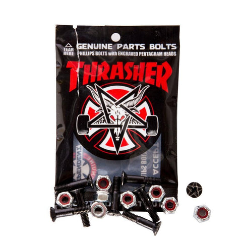 Independent X Thrasher Pentagram Phillips Bolts