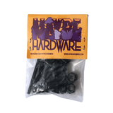 "Buy Maybe Hardware Proper Next Level Bolts. 1"" Allen. Pack of 8 hand crafted Mancunian Fixings. Satisfaction Guaranteed. Whats New? Skateboard Bolt fixings, Fast Free UK delivery when you spend £50 or over, Worldwide Shipping."