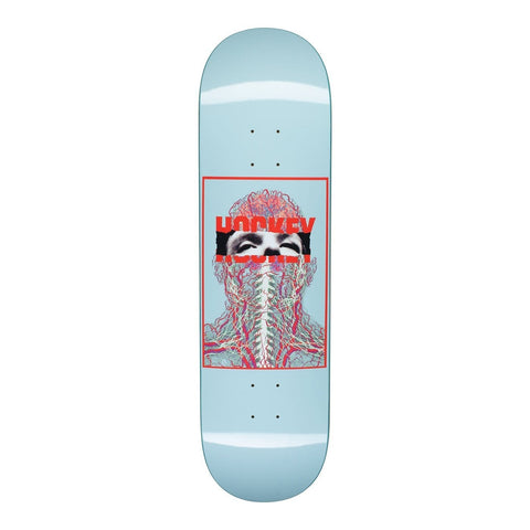 "Buy Hockey Skateboards Nerves John Fitzgerald Skateboard Deck 8.5"". All decks come with free Jessup griptape, please specify in the notes at checkout or drop us a message in the chat if you would like it applied or not. Buy now Pay Later with Klarna & ClearPay payment plans. Fast Free Delivery. Free MOB or Jessup grip tape. Tuesdays Skateshop, Bolton 