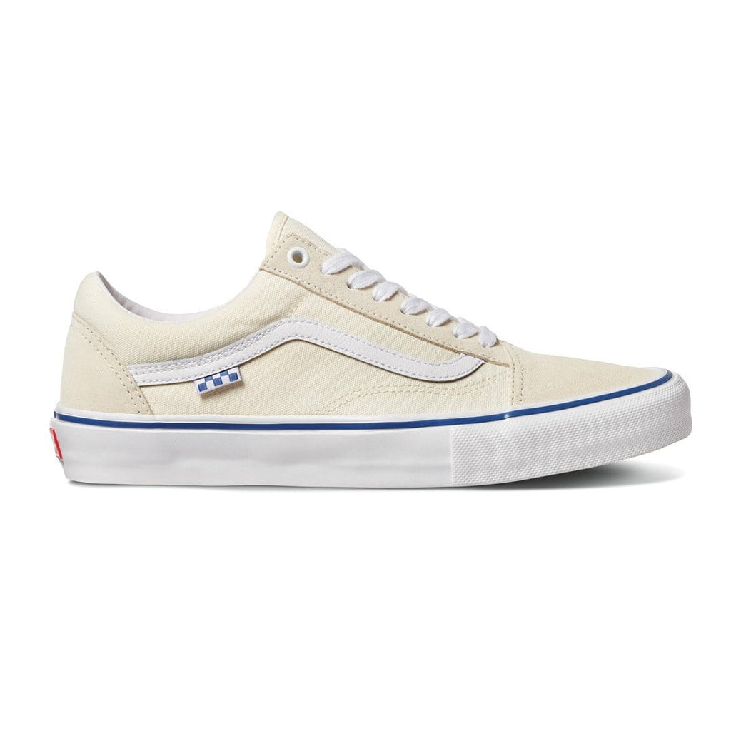 Buy Vans Skate Old Skool Pro Shoes Off White. 2021 sees the Pro Skate Classics range pushed up a gear with durability and longevity in mind, still echoing the classic silhouettes whilst ramping up the tech in each style. Fast Free UK delivery options. Best for Vans Skateboarding Shoes in the UK. Buy now pay Later with Klarna and ClearPay. Tuesdays Skateshop Bolton Greater Manchester UK.