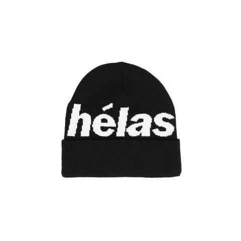 Buy Helas Rep Beanie Black . Acrylic construct. Helas logo detailing. Single Fold. Feel free to open chat (bottom right) for any further assistance. Fast Free delivery and shipping options. Buy now pay later with Klarna and ClearPay payment plans at checkout. Tuesdays Skateshop, Greater Manchester, Bolton, UK. Best for Helas.