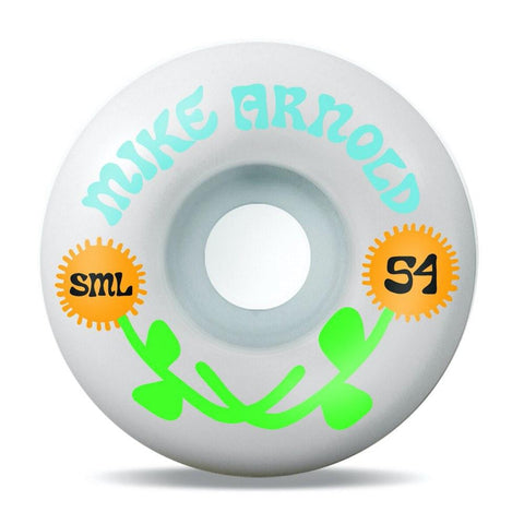 Buy SML. Wheels Mike Arnold 'Love' V-Cut Series Wheels 54 MM 99 A. See more Wheels? Fast Free delivery and shipping options. Buy now pay later with Klarna or ClearPay at checkout. Best for Skateboarding Wheels in the UK at Tuesdays Skateshop, Bolton. Greater Manchester, UK.