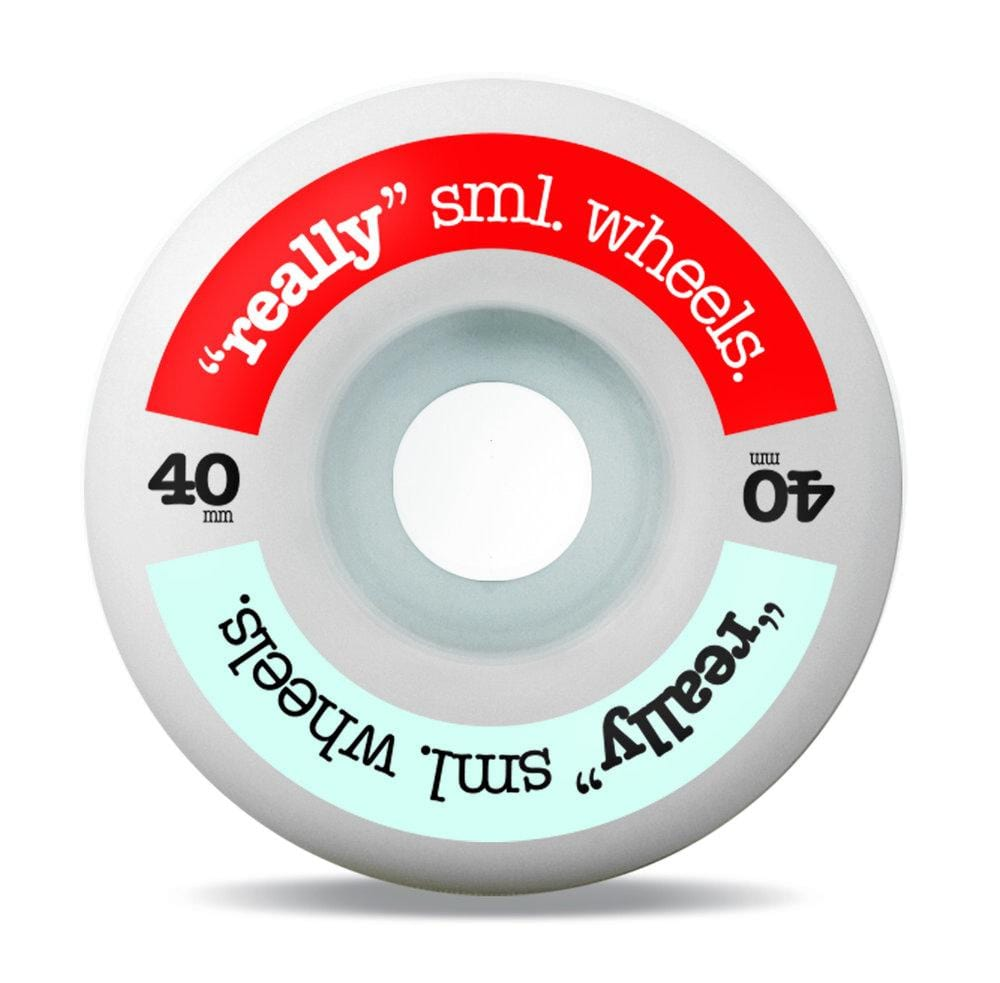 Buy SML. Wheels Really sml Wheels 40 MM 99 A. See more Wheels? Fast Free delivery and shipping options. Buy now pay later with Klarna or ClearPay at checkout. Best for Skateboarding Wheels in the UK at Tuesdays Skateshop, Bolton. Greater Manchester, UK. Really Small Skateboarding Wheels.
