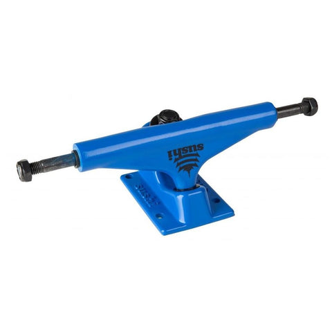 "Buy Sushi Pagoda Raw Trucks 5.25 Blue (Set of 2) Suitable for decks 7.75"" - 8.25"". Great price point set of trucks at only 20 gbp (sold as pair) Fast free UK delivery on orders £60 and over, Global Shipping."
